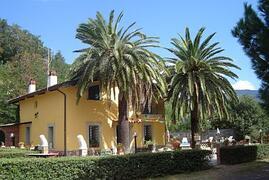The villa .......
