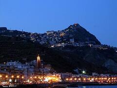 Taormina by night.............
