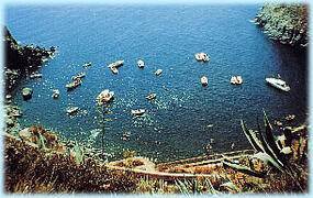 Sorgeto Bay