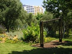Parc/Garden close to the apartment
