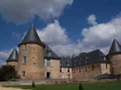 Chateau at Rochebrune