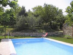Property Photo: view of the pool