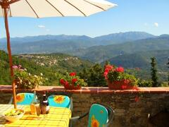 Property Photo: Relax and enjoy the stunning scenery from the private terrace