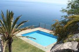 Property Photo: Pool overlooking the sea