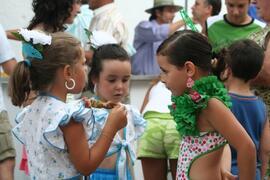 local children at the fiesta