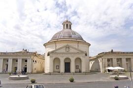 Ariccia's Central Plaza by Bernini