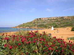 Ramla Bay, the most beautiful beach in Gozo