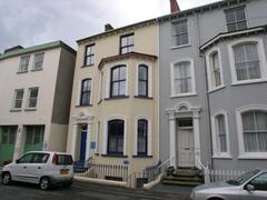 Exterior of building.