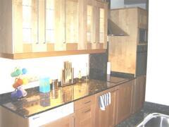 kitchen is very modern.