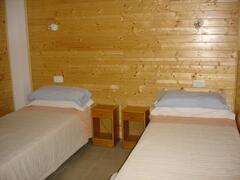 twin room,