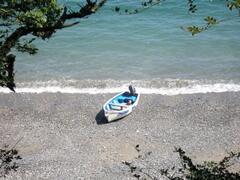 Grebe Beach (2 minutes walk)