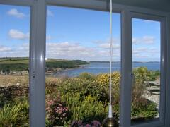 view from sitting room