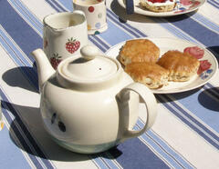 You have to enjoy a Cornish Cream Tea!