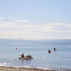 Kayaking from Maenporth