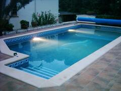 Property Photo: Heated private pool