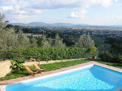 Property Photo: pool overlooking Florence