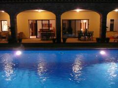 Property Photo: Casa Alfora at night