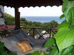 Hammock Retreat with Caribbean View