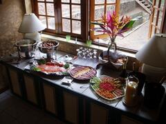 Breakfast Buffet at Villa Capri