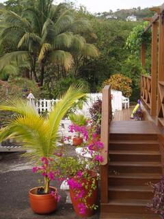 Steps to Lower Deck