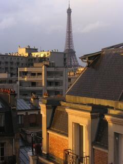 Property Photo: Eiffel Tower views from 5 windows