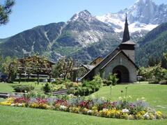 Property Photo: Lers Praz church and chalet