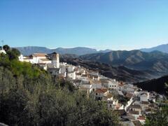 Cútar village