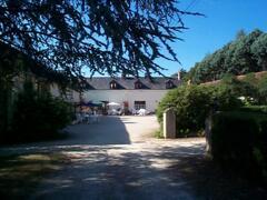 Property Photo: The courtyard at La Croix Joreau