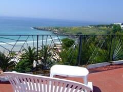 Property Photo: terrace with the view of the sea