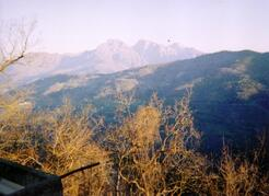 Property Photo: View from balcony (Alps)