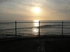 Sunset over Cardigan Bay