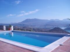 Property Photo: Pool with a view