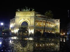 Politeama Theatre, the core of the City, just 3 minutes walking from us!