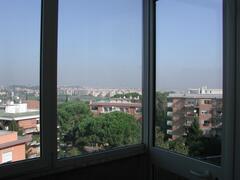 CITY VIEW FROM VERANDA