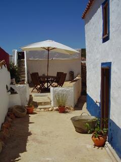 Property Photo: Casa Pequena and communal garden