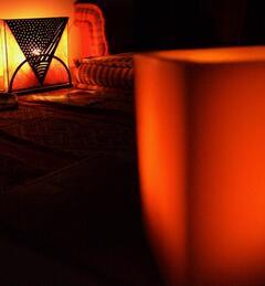 Livingroom at night