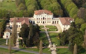 Property Photo: Private Palladian villa (16th century) The apartment is located in the eastern wing. A private parking lot is available in the property