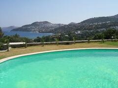 Property Photo: Relax & enjoy the stunning sea views from the pool