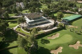 Views of the outstanding El Bosque Championship golf course
