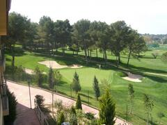 Amazing views from your balcony over the 9th hole