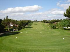View of approach of 2nd hole of Royal Golf Course