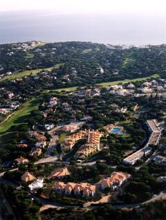 Aerial view Jardins & Vale Do Lobo