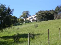 house in the hill