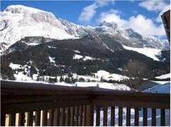 Property Photo: View from the chalet decking