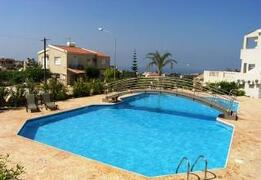 Property Photo: View from Pool over Coral Bay and Paphos Coastline