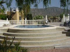 Property Photo: Relax in the pool and enjoy the mountain views