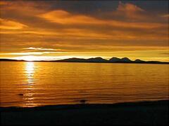 Muasdale sunset