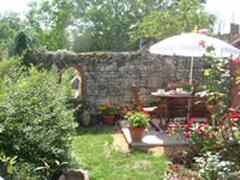 Property Photo: Le Carabi private Garden & Terrace