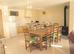 Property Photo: Kitchen and dining room
