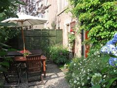 Property Photo: Garden patio area